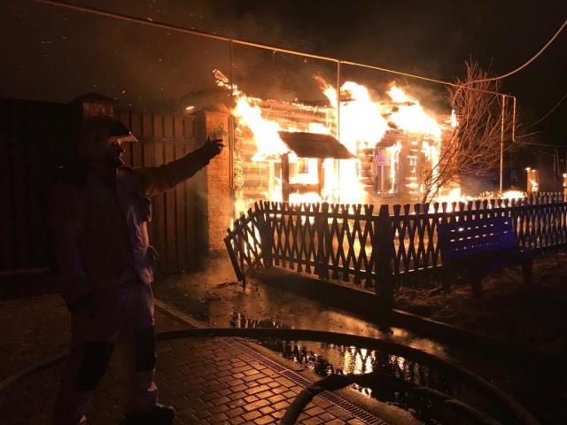Пожар в Верхней Пышме